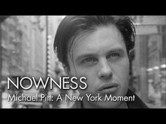 "Michael Pitt in ""A New York Moment"" by Glen Luchford"