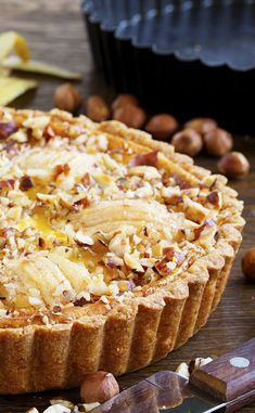 Le Gâteau aux Pommes et Mascarpone - Carol Dailey Pie Recipes, Sweet Recipes, Cooking Recipes, Holiday Pies, Thanksgiving Pies, No Cook Desserts, Sweets, Food, Quiche