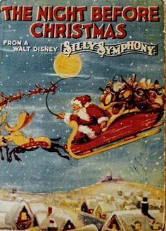 walt disney silly symphony the night before christmas