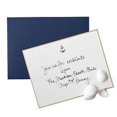 Letterpress Anchor Notecards #makeyourmarkMark and Graham