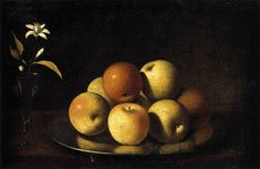 Google Image Result for http://upload.wikimedia.org/wikipedia/commons/4/42/Juan_de_Zurbar%25C3%25A1n_-_Still-Life_with_Plate_of_Apples_and_Orange_Blossom_-_WGA26082.jpg
