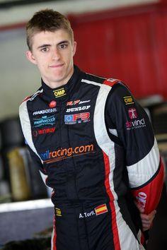 Alexander Toril (ESP), Porsche Mobil 1 Supercup Test Barcelona