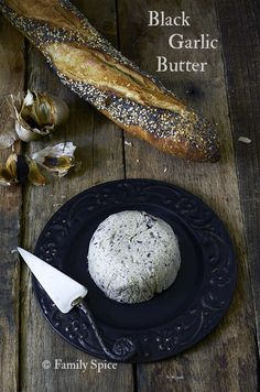 Black Garlic Butter - Family Spice