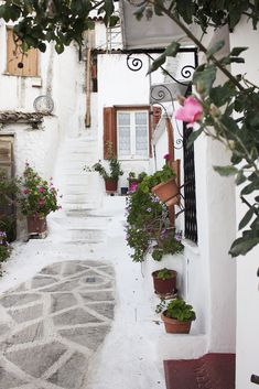 Anafiotika #traditional #greece Athens City, Athens Greece, Great Places, Beautiful Places, Street Magic, Traditional Taste, Greece Travel, Spring Time, Bloom