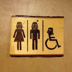 #Bathroom sign #starwarsbathroom