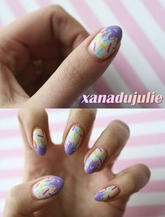 Ice cream nails :)