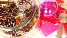 DIY Holiday Potpourri! And, it sparkles!