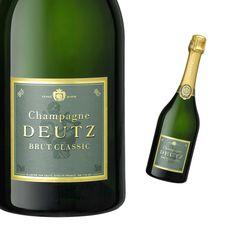 Demi-bouteille Champagne Deutz Brut Classic Pinot Noir, Champagne Deutz, Mets Vins, Wine, Drinks, Bottle, Classic, Rum, Alcohol