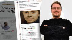 CMADFI 2020 -puhuja, tekoäly-yrittäjä Mikko Alasaarela kertoi kokemuksistaan koulukiusattuna muun muassa Twitterissä.