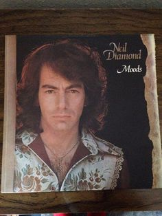 Vinyl Record Neil Diamond Moods Vinyl Record by LooseChipsWoodWork