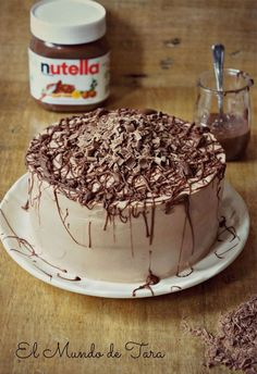 Pastel de Nutella / http://www.elmundodetara.es/