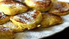 Smitten Kitchen Apple Pancakes-- I made these for dinner tonight. V yummy! What's For Breakfast, Breakfast Dishes, Breakfast Recipes, Breakfast Healthy, I Love Food, Good Food, Yummy Food, Apple Pancake Recipe, Apple Pie
