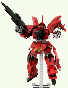 GUNDAM GUY: Gundam LEGO: Amazing Gundam Re-Creations!