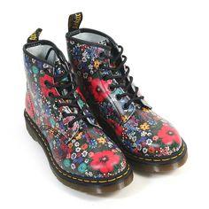 Dr Martens Women's Wanderlust 101 Lace Up Boot Leather Multi | eBay