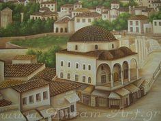 Το Τζαμί και τα μαγαζιά στο Μοναστηράκι