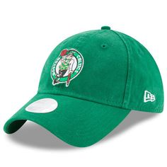 hot sale online ec211 32eb2 Women s New Era Kelly Green Boston Celtics Preferred Pick 9TWENTY  Adjustable Hat