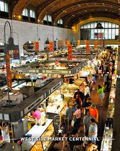 Cleveland/Ohio City Westside Market - we love this place so much..