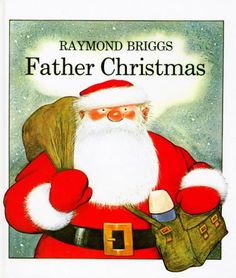 Father Christmas by Raymond Briggs http://www.amazon.co.uk/dp/0241022606/ref=cm_sw_r_pi_dp_BLv-vb1N82D8M