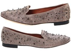 Sam Edelman Adena spike and crystal loafers. (for the love of god, these must be mine!)