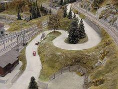Die Seite enthält eine Beschreibung des Bahnhofs Thalwil a. See der Modelleisenbahnanlage