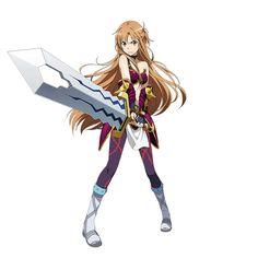 Asuna-san (SAO)