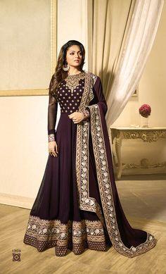 Hot Wedding Wear Long Designer Anarkali Shalwar Kameez Suit Top :- Faux GeorgetteBottom :- Santoon Inner :- SantoonDupatta :- nazminWrok :- Faux Georgette With EmbroidryLength :- Max up to :- Max up to :- Semi Stitched Bollywood Dress, Pakistani Dresses, Indian Dresses, Indian Outfits, Pakistani Clothing, Abaya Fashion, Ethnic Fashion, Indian Fashion, Fashion Dresses