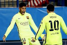 Atletico Madrid 2-3 Barcelona (agg 2-4): Neymar at the double as frantic first-half settles fiery Copa del Rey battle   Daily Mail Online