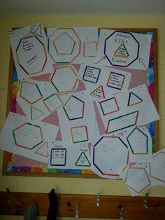 6th class 2d shapes 6 Class, Infants, 2d, Shapes, Teaching, School, Kids, Babies, Learning