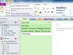 GTD and OneNote tutorial