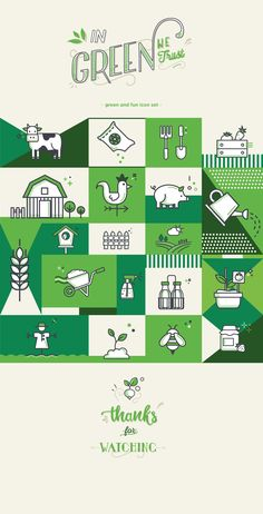Farm icon set on Behance Brochure Inspiration, Logo Inspiration, Icon Design, Web Design, Logo Design, Behance Icon, Jungle Illustration, Graphic Design Brochure, Event Logo