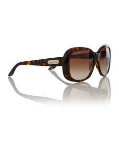 d3c740f95be Ralph Lauren Sunglasses Ladies Rl8087 Handbag Plaque Havana Sunglasses -  House of Fraser