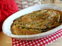 Che buoni i fagiolini gratinati! Ottimi da servire come secondo piatto o piatto unico, accompagnati da una buona insalata di stagione!