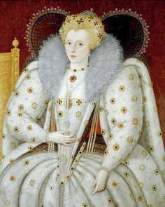 Elizabeth by Marcus Gheeraerts the Younger