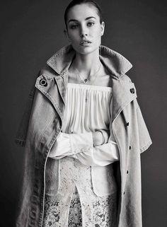 Nadja Bender by Hasse Nielsen for Vogue Spain July 2015