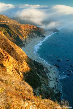 Fog rolling in on the Big Sur Coast along Highway 1...been here many times :)