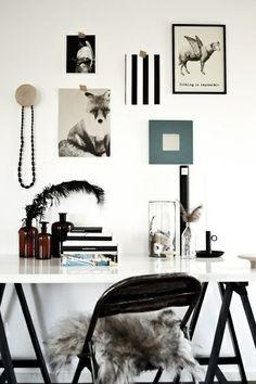 LEI LIVING: Skønt hjemme kontor