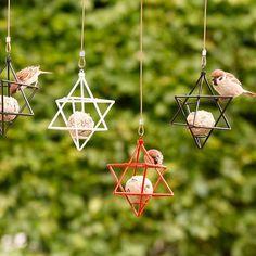Meisenknödel-Halter: Dekorativer Sitz- und Futterplatz für Vögel