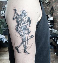 A dance with death  • Artist: @aleksmothra