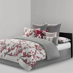 Shop for natori cherry blossom duvet cover at Bed Bath & Beyond. Buy top selling products like N Natori® Cherry Blossom Reversible Duvet Cover Set and N Natori® Sakura Blossom Printed Duvet Cover Set. Shop now! Duvet Cover Sets, Comforter Sets, Bedding Sets, King Duvet Cover, Bed, Duvet, Elegant Duvet Covers, King Comforter Sets, Bedding Collections
