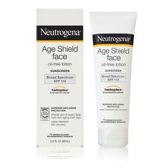Brand New, Never Opened:  Neutrogena Age Shield Face Oil-Free Lotion Sunscreen…