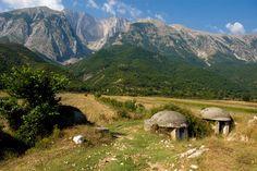 Albania's bunker / bunkier w albańskich górach #albania #bezdroza