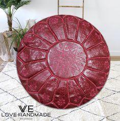 40% OFF STUFFED Moroccan Pouf Ottoman floor Leather Luxury poufs Moroccan home decor Boho Decor moroccan kilim Berber pouf ottoman square