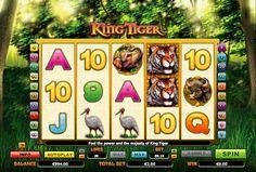 King Tiger - http://jocuri-pacanele.com/joaca-gratis-pacanele-king-tiger-online/