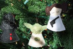 Star Wars felt ornam
