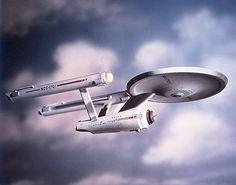 The U.S.S. Enterprise. September 8, 1966 - Star Trek TV Show Premieres