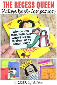 At the beginning of the year, it is important to establish your expectations, routines, and procedures. This includes the playground. The Recess Queen is a great book to help start a conversation with your students. Here are some activities you can pair with The Recess Queen.