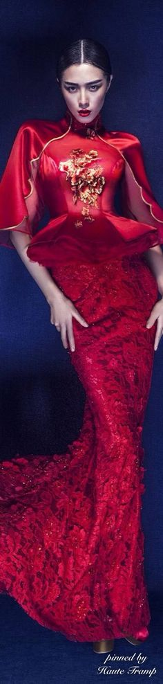 ~NE-TIGER Red Gown | House of Beccaria#