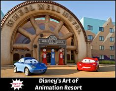 Disney's Art of Animation Resort - room rates, photos, map, overview