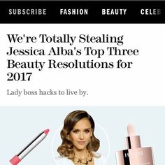 One of my beauty resolutions for this year is to look for products that multi-ta Happy Hour Party, Anastasia Ashley, Instagram And Snapchat, Jessica Alba, Celebs, Celebrities, Resolutions, My Beauty, Boss Lady