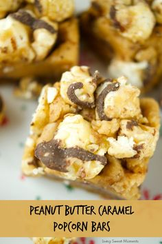 ... salted caramel fudge popcorn. The perfect dessert for kids & parties